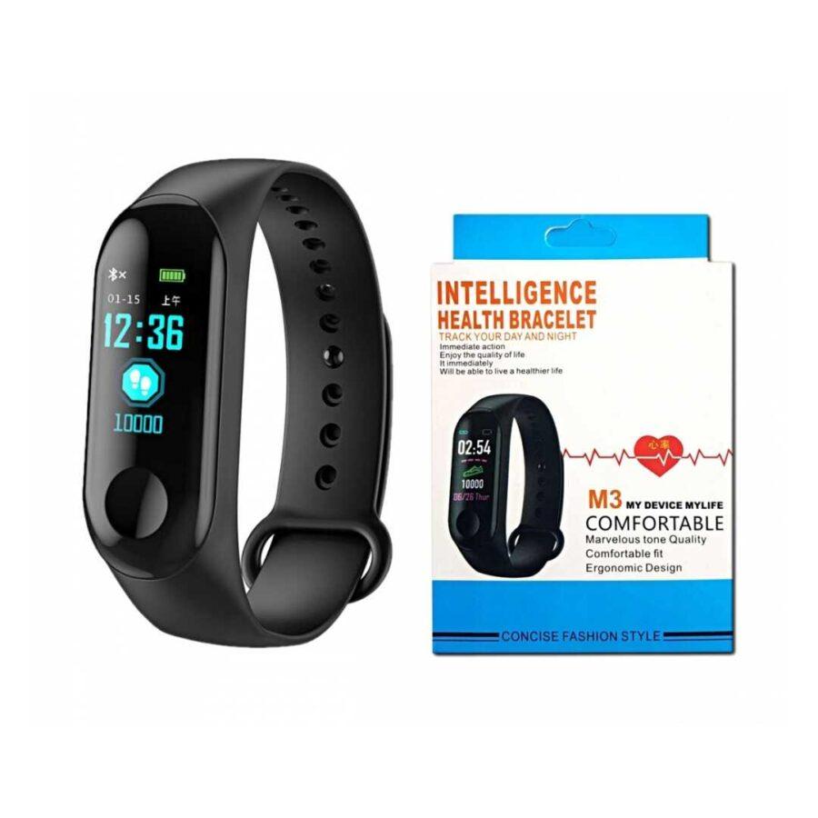 wristband xiaomi mi sports Fitness Tracker Smartband m3 smart band mates pulsi watch best price