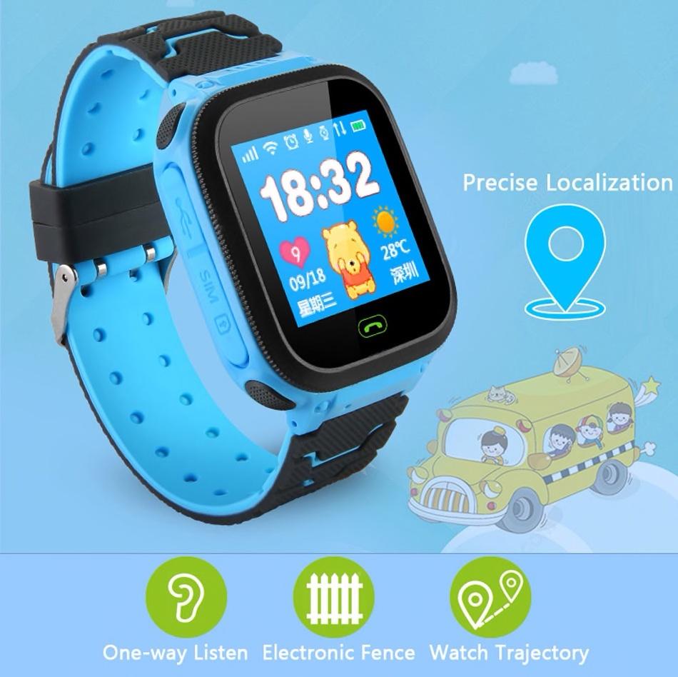 Ora me gps per femije smart watch kids gps tracking monitorim online dyqan taxi blerje online smartwatch