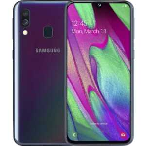 Smartphone Samsung Galaxy A40 Celular ne Dyqan Taxi Cmimi