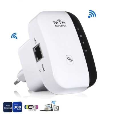 Wifi repeater 300 mbps extender manual reviews signal lond distance Bli online porosit ne dyqan taxi