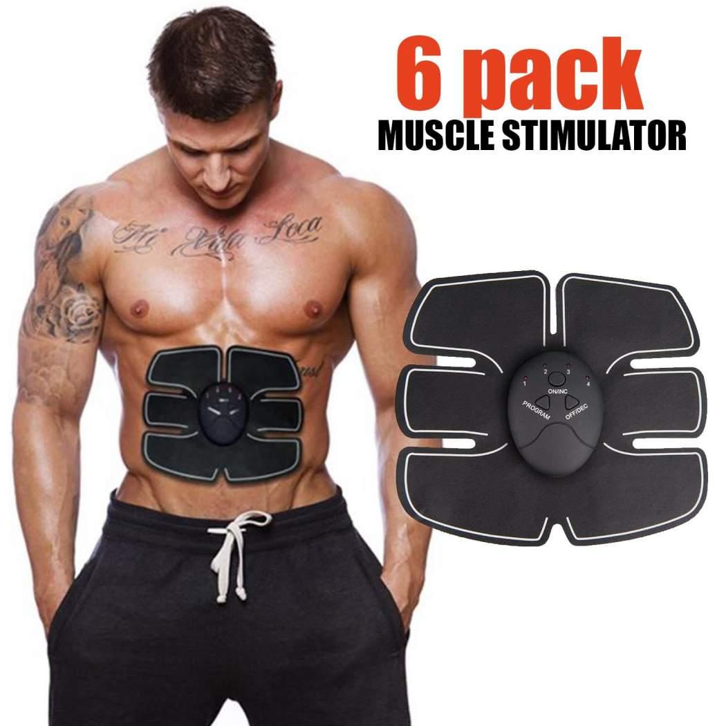 6 pack ems muskuj barku bodybuilding muskuj trup i bukur