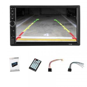 Kasetofoni me kamera parkimi mp4 mp5 mp3 video ne Dyqan Taxi