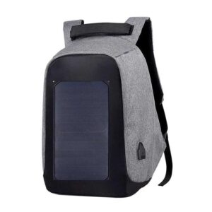 backpack albania canta shpine per shkolle cante shpine laptopi solar panel per femra Mens Black