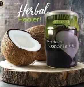 coconut oil vaji i kokosit per floket