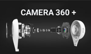 Kamera Wifi iP Camera 360 Grade Dyqan Taxi