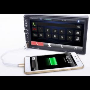 Kasetofon makine 7020 Me ekran Mp5 Mp4 MP3 per makina audio Kamera ne shitje Dyqan Taxi