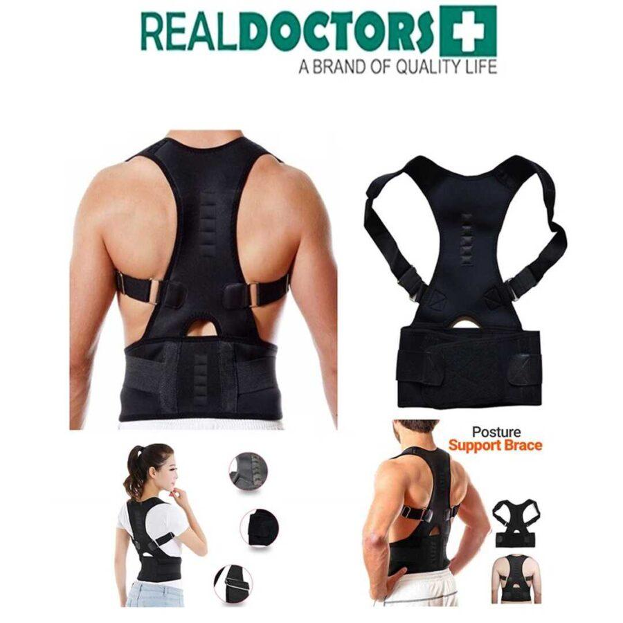 Korse per shpinen Real Doctors korigjues per shpinen porosit ne dyqan taxi blerje online bli doctor back posture dhimbjet e shpines mbajtese shpine