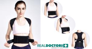Qendrimi i gabuar shkakton dhimbje te shpines back brace posture corrector Real Doctors