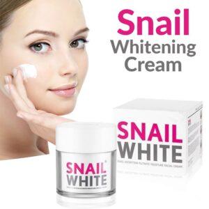Krem me mukus kermilli Snail White Dyqan Taxi kermilli per fytyren