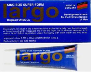 Largo Cream Original Inverma germany per rritjen e penisit krem Dyqan Taxi Online Shop Blerje