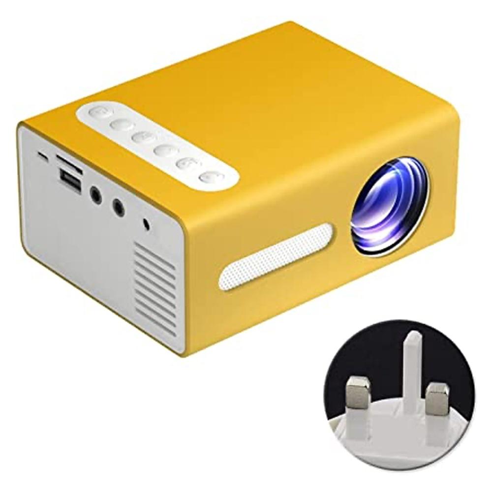 mini projektor led t300 portable dyqan taxi
