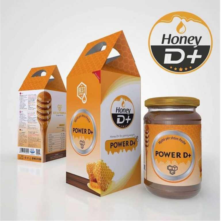 Mjalte Honey Power D+ 2 gisht mjalt shitje online shtimi ne peshe vitamina per shtim te peshes