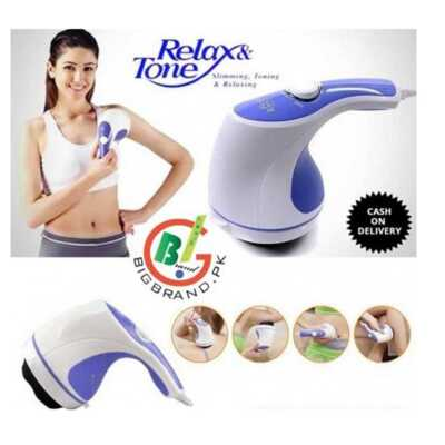 Relax And Tone Body Massager Machine Review Celuliti ne trup dhe kofshe