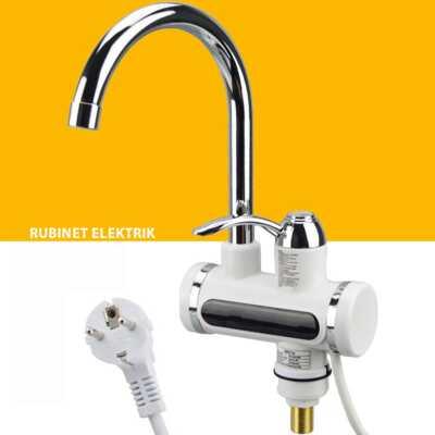 rubinet elektrik me tregues dixhital per ngrohjen e ujit