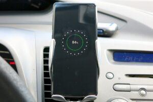 Wireless Car charger Sensore Dyqan Taxi Karikues per makine per iphone samsung