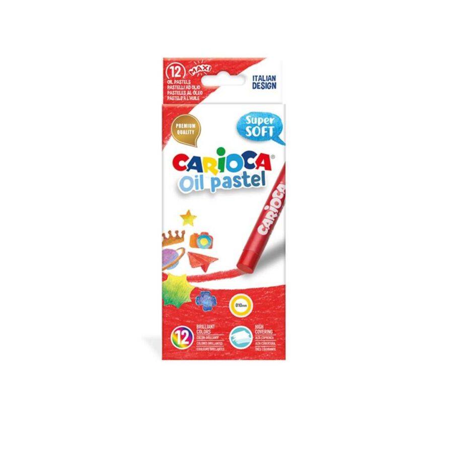 Bojra pastel per femije carioca oil pastel 6429 dyqan taxi makine kuklla