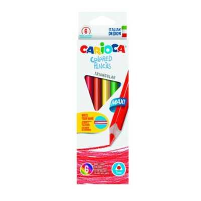 Carioca lapsa per femije colored pencils 6188 dyqna taxi bojra per femije ngjyra