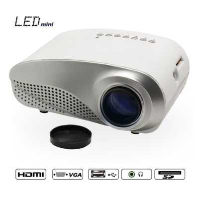 Video Projektor led mini dyqan taxi online portativ portable projector ne shitje youtube videos foto