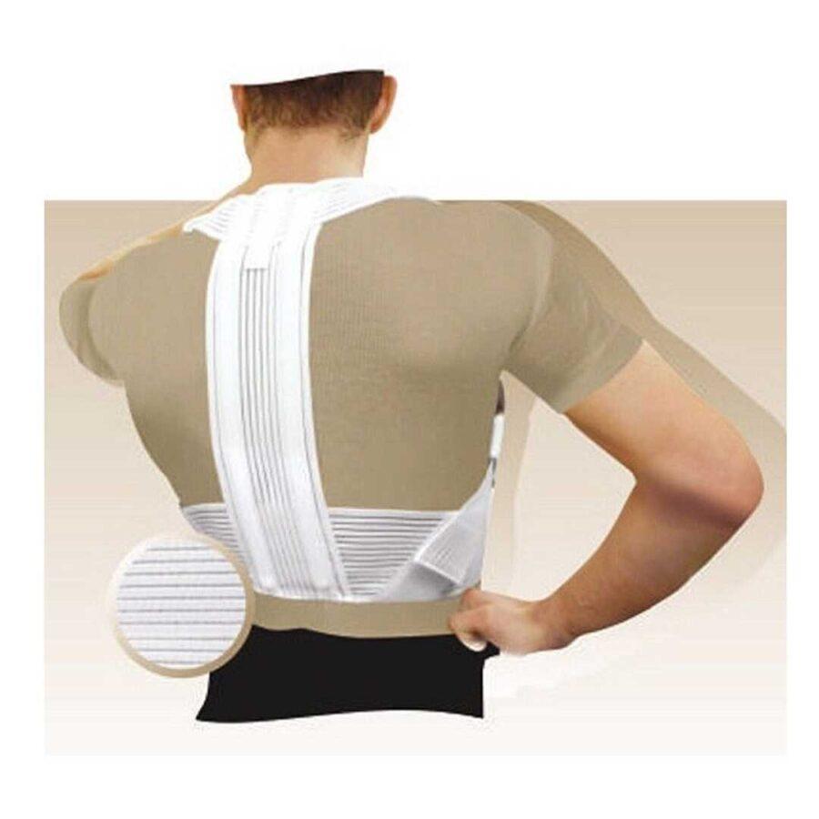 Korrigjues Shpine Elastik Tonus Elast Back Brace Posture Corrector ne Dyqan Taxi