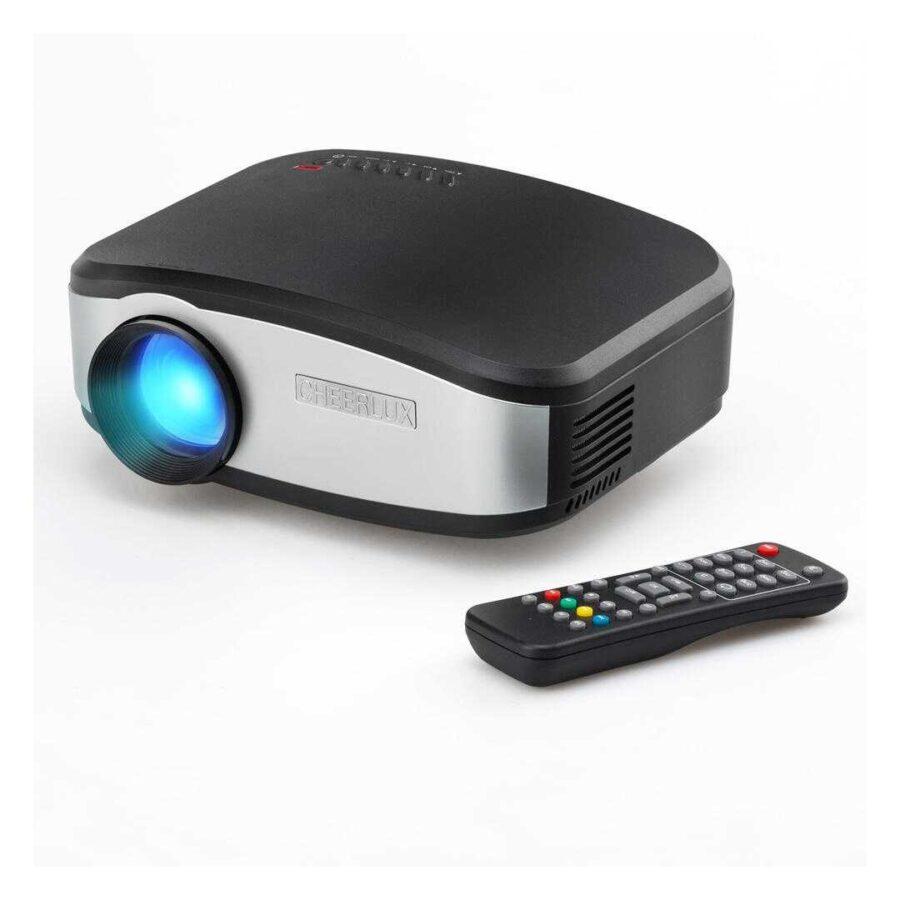 mini projektor ne shitje hd best home cinema projector portable cheerlux c6 bli tani