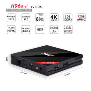 h96 pro plus tv box firmware