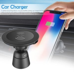 magnetic wireless car phone charger