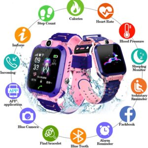 gps tracker for kids q12 smart watch per femije