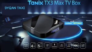 android box tanix tx3 mini dyqan taxi