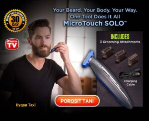 MicroTouch Solo Dyqan Taxi Makine rroje
