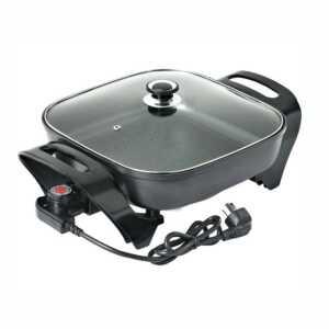 cooker grill pan tave me kos me mish dheu