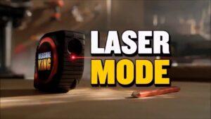 Laser distance meter digital tape measure