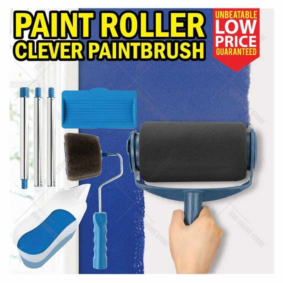 Paint roller furce shtepi te lyera me boje hidromat nga jashte