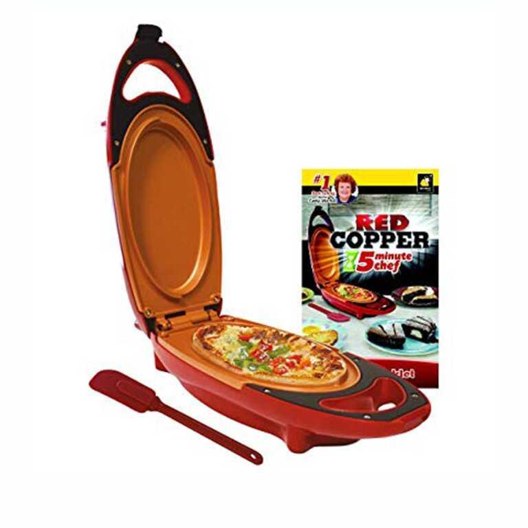 tigan red copper 5 minute chef tigan kuzhina