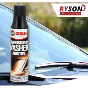 Aditiv windshield wiperr fluid for car glasses