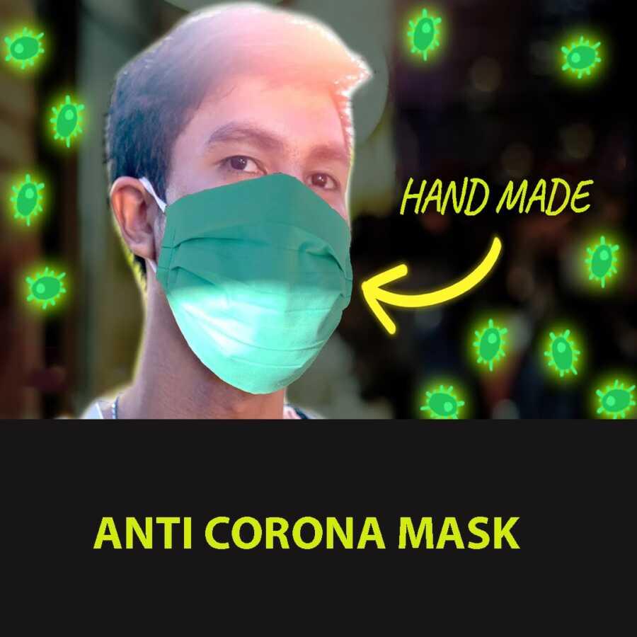 Maske kundra virusit Corona Covid 19 Shqiperi Tirane