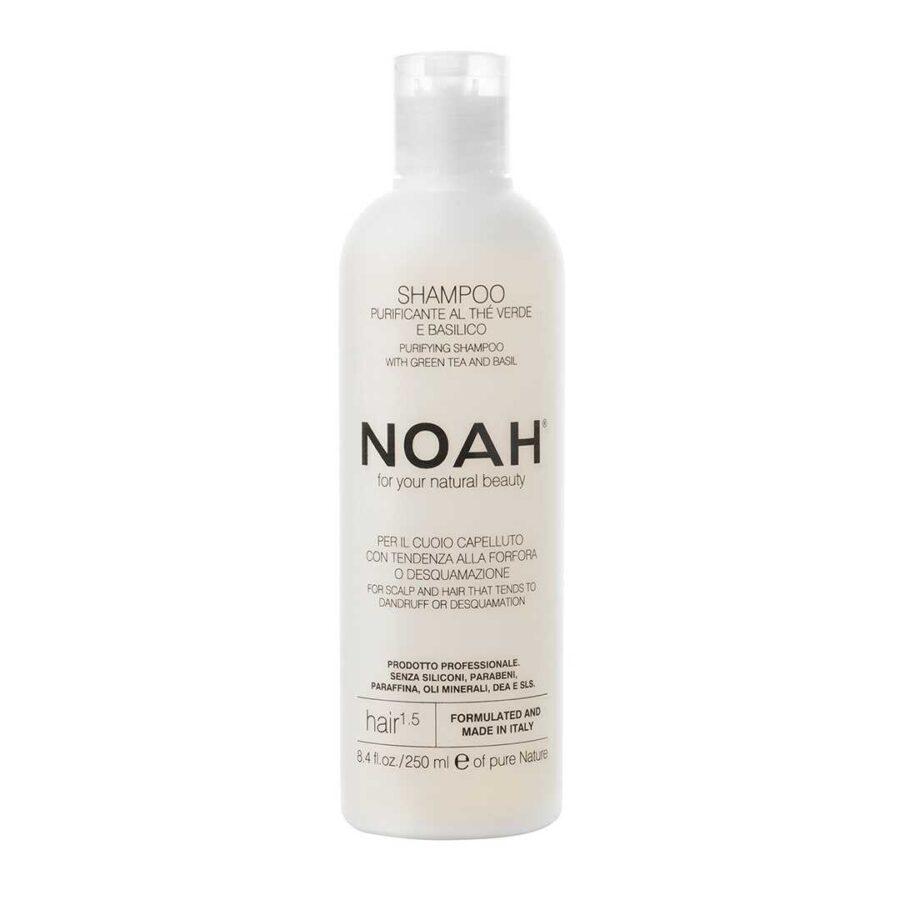 Shampo kunder zokthit per floket Noah