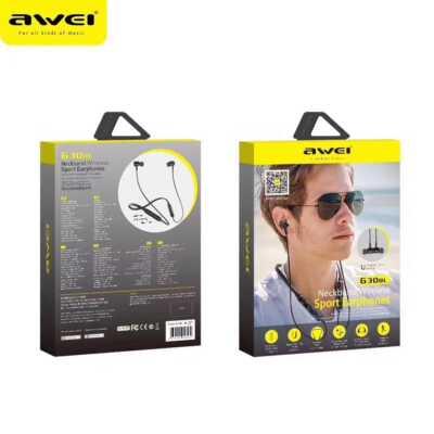 Kufje Awei sportive | Neckband Wireless Earphones