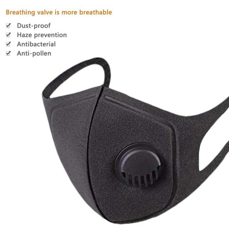 Maske Anti Covid me Valvul | Best Face Mask Protection