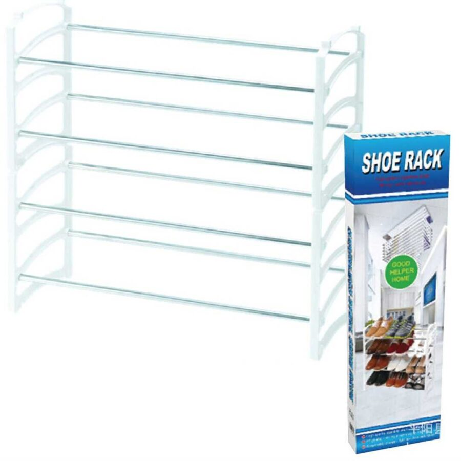 Mbajtese metalike kepucesh Shoe Rack