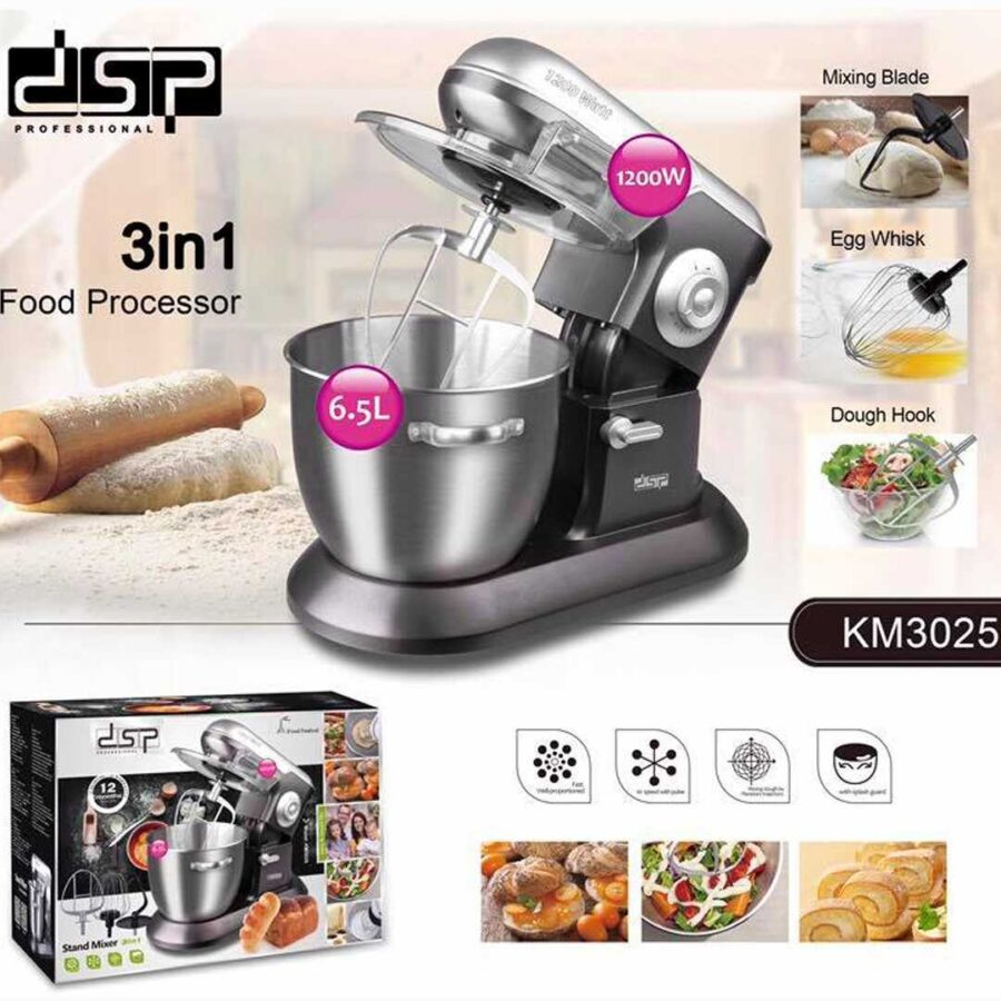Mikser Profesional DSP | Stand Mixer 3IN1