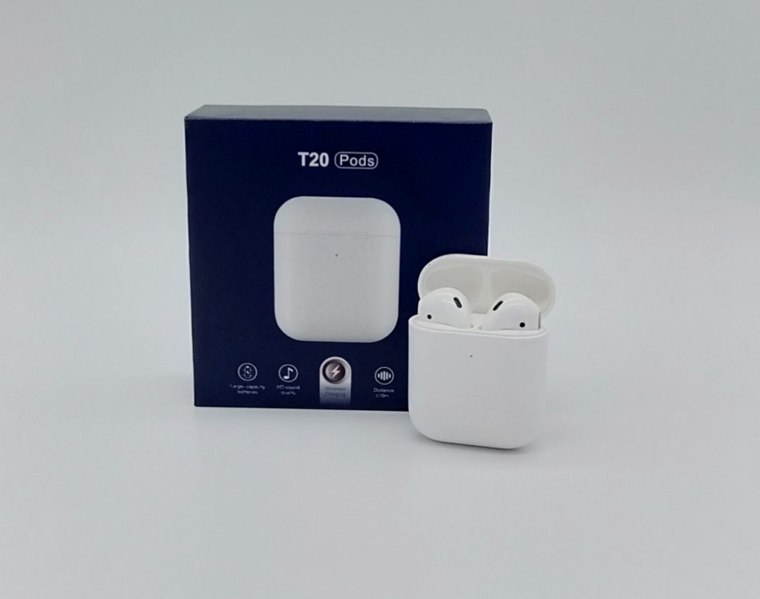 airpods t20 per iphone dhe android