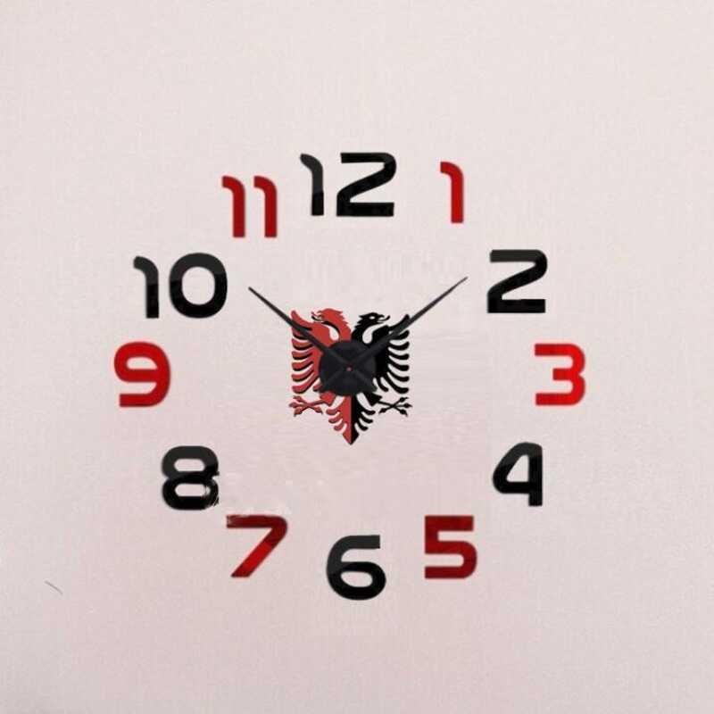 ore muri me flamurin e shqiperise
