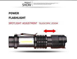 Autofocus flashlight