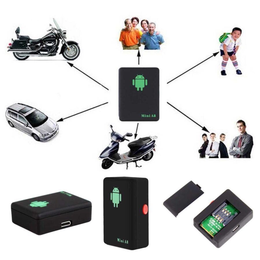 Mini GPS A8 per makinen tuaj bli Online dyqan taxi