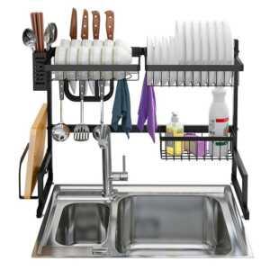 Raft per pjatat over sink drying rack