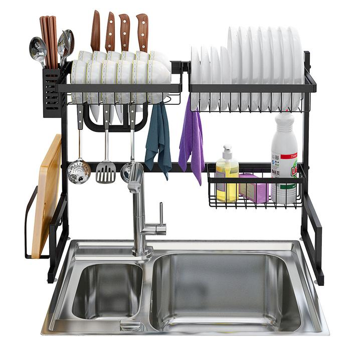 Raft per pjatat over sink drying rack