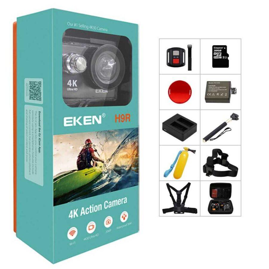 EKEN H9R Camera 4K Ultra HD bli online dyqan taxi