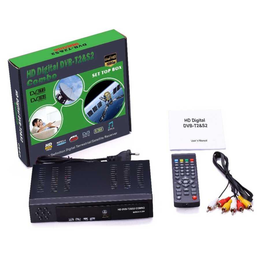 Combo DVB T2 S2 HD Satellite Receiver dekoder bli online dyqan taxi