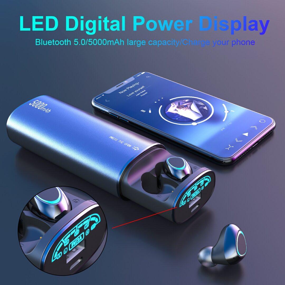 led power bank tws online dyqan taxi