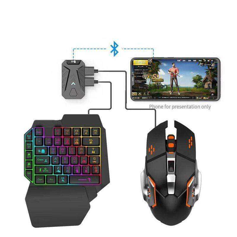 4 in 1 mobile game combo pack tastiere
